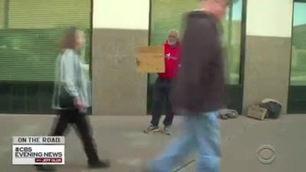 Homeless man need food