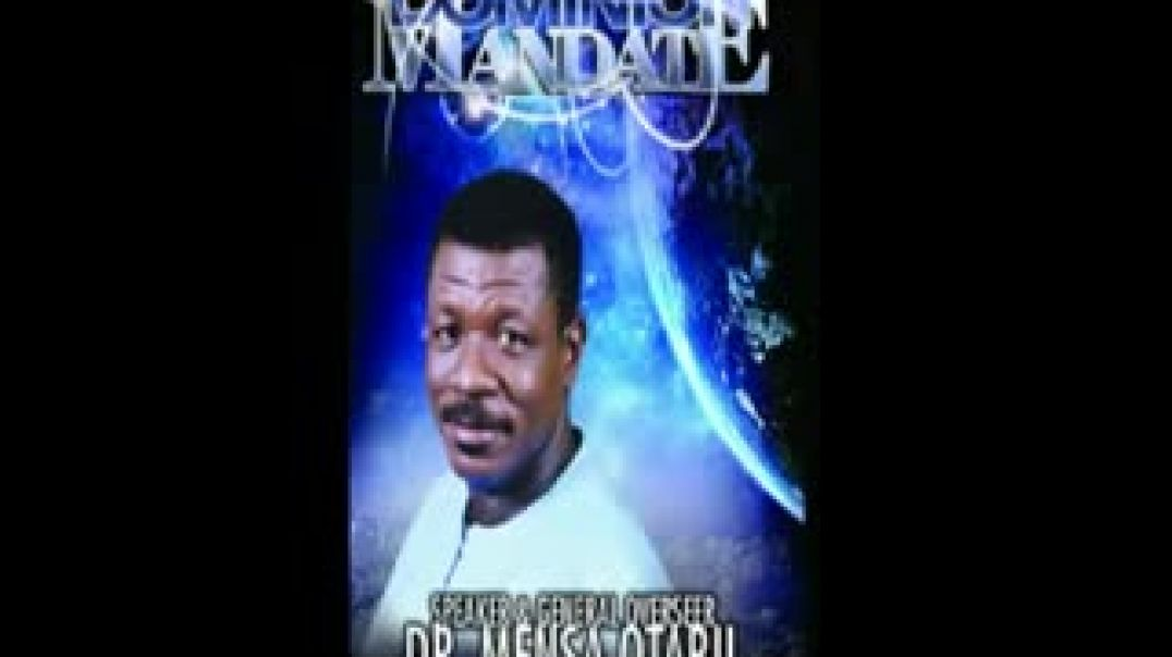 Dr Mensa Otabil  THE DOMINION MANDATE 2 (Be fruitful)